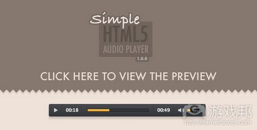 HTML5 audio from codecanyon.ne