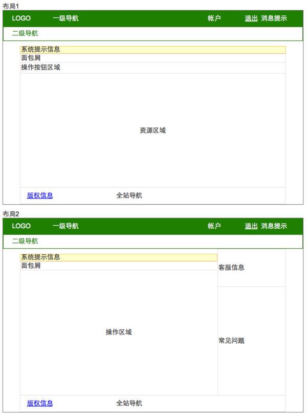domob的页面布局