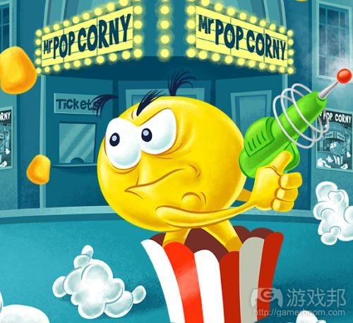 pop corny(from harryballs.com)
