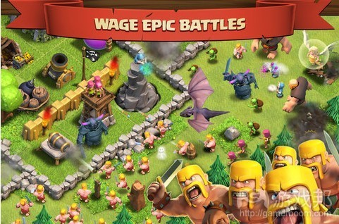 clash of clans(from gamesindustry)