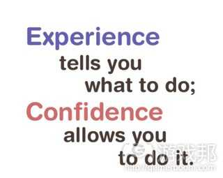 experience & confidence(from scirra.com)