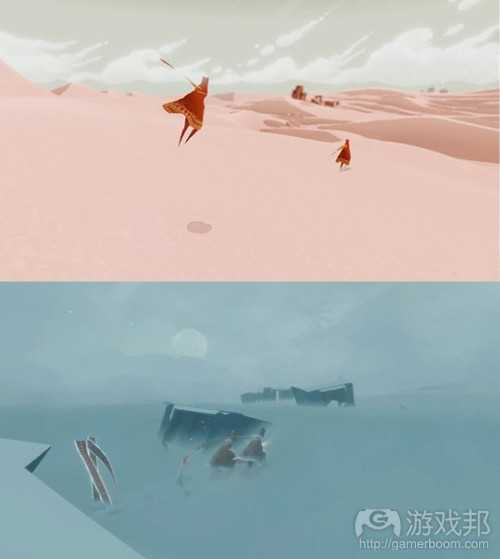 Journey_Character_Development(from gamasutra)