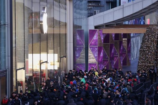 苹果高管解读财报:中国零售店数量明显太少了