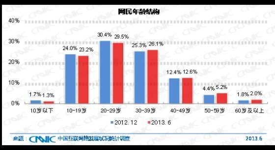 图 7 中国网民年龄结构