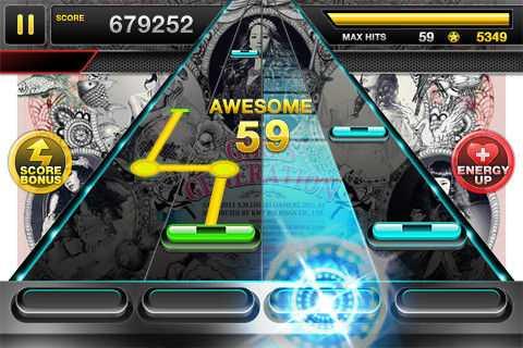 手机上的《Tap Sonic》是NEOWIZ的重要游戏