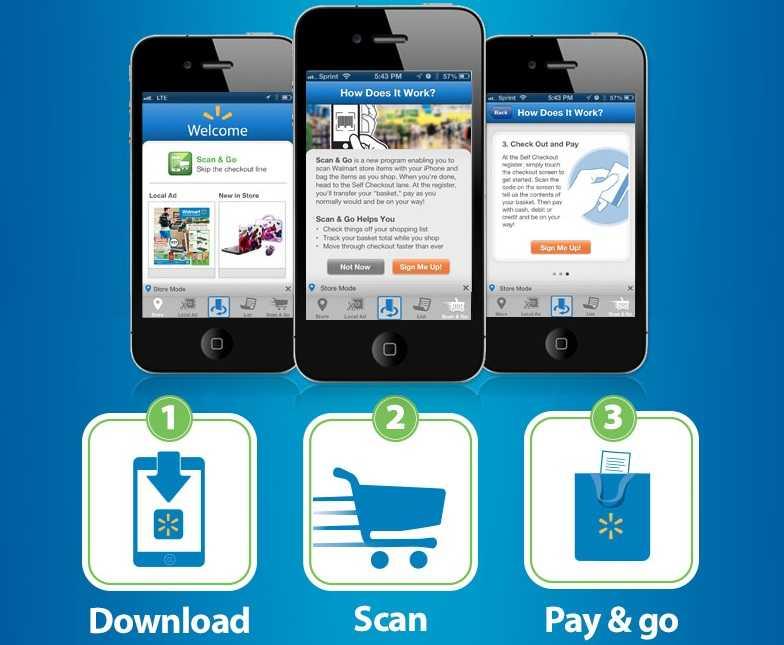 Walmart mobile site