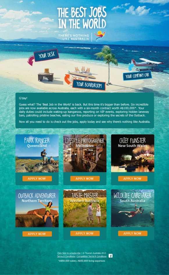 澳大利亚旅游社会化营销4
