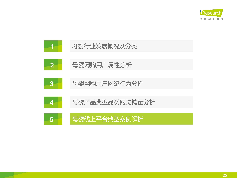 iResearch-2014年中国母婴行业线上数据洞察报告简版(1)-24