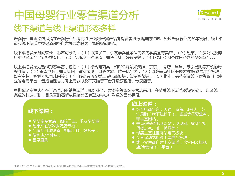 iResearch-2014年中国母婴行业线上数据洞察报告简版(1)-4