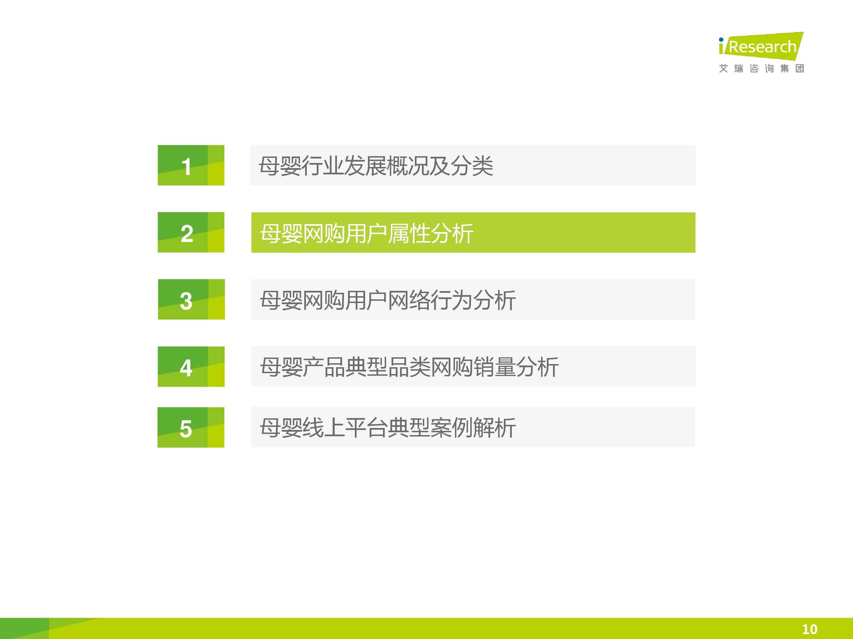 iResearch-2014年中国母婴行业线上数据洞察报告简版(1)-9