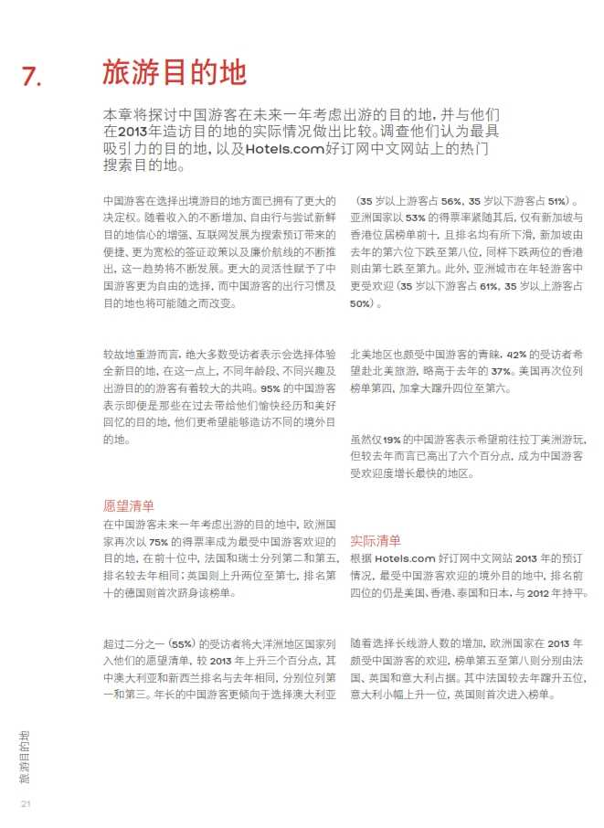 中国游客境外旅游调查报告2014_022