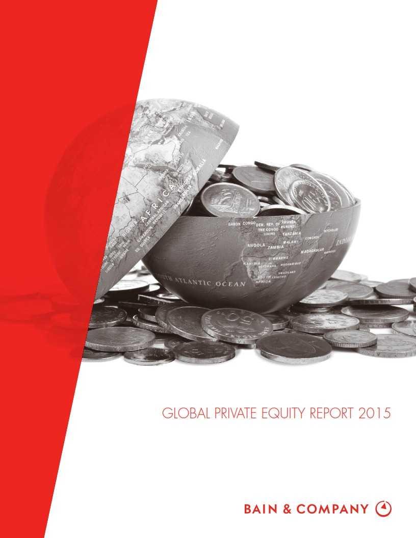 贝恩:2015年全球私募股权投资报告_001