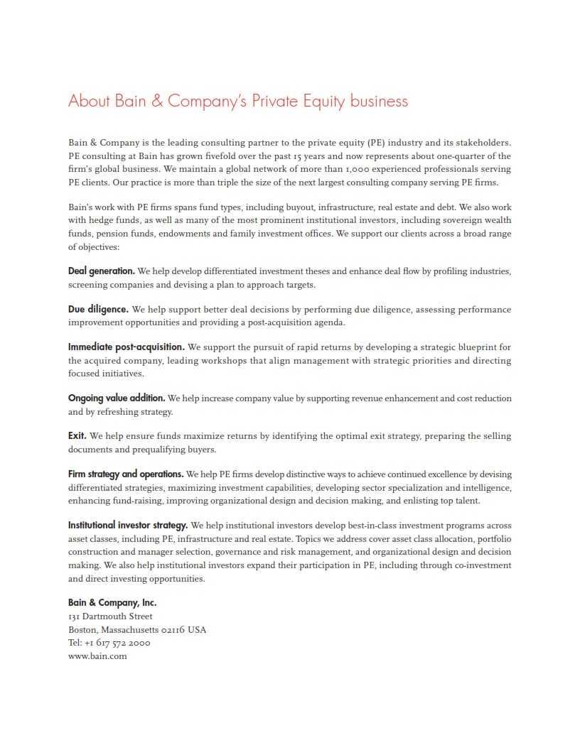 贝恩:2015年全球私募股权投资报告_002