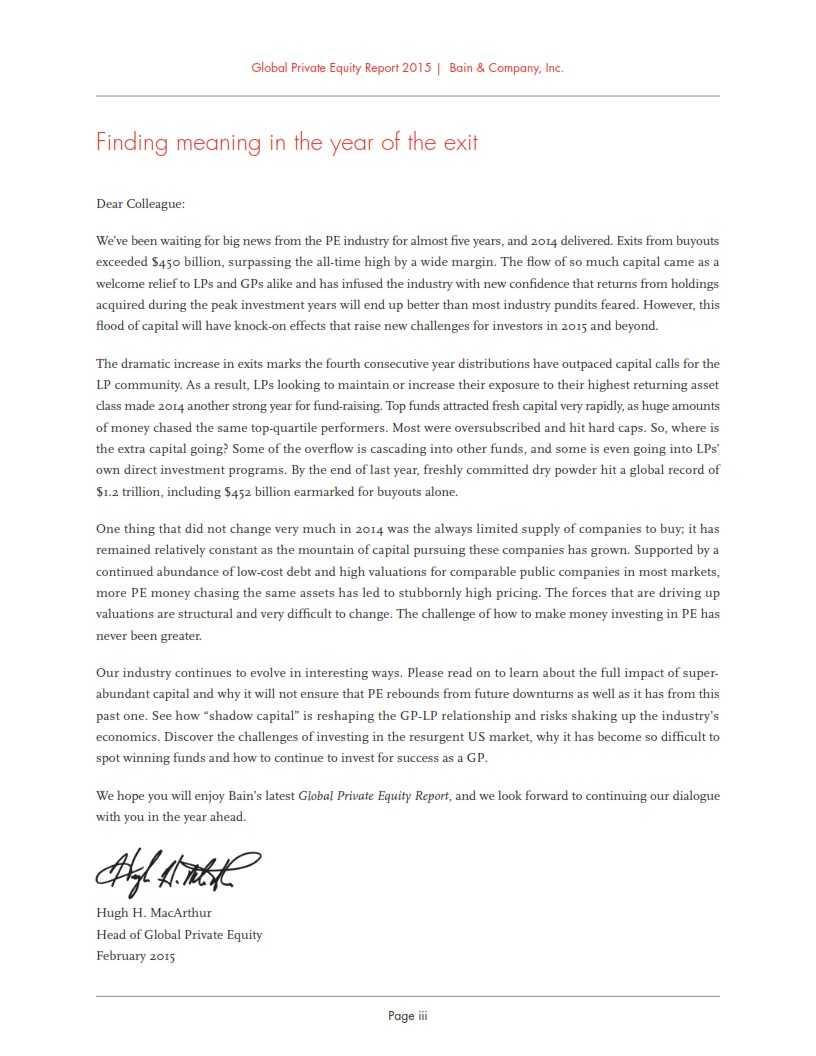 贝恩:2015年全球私募股权投资报告_005