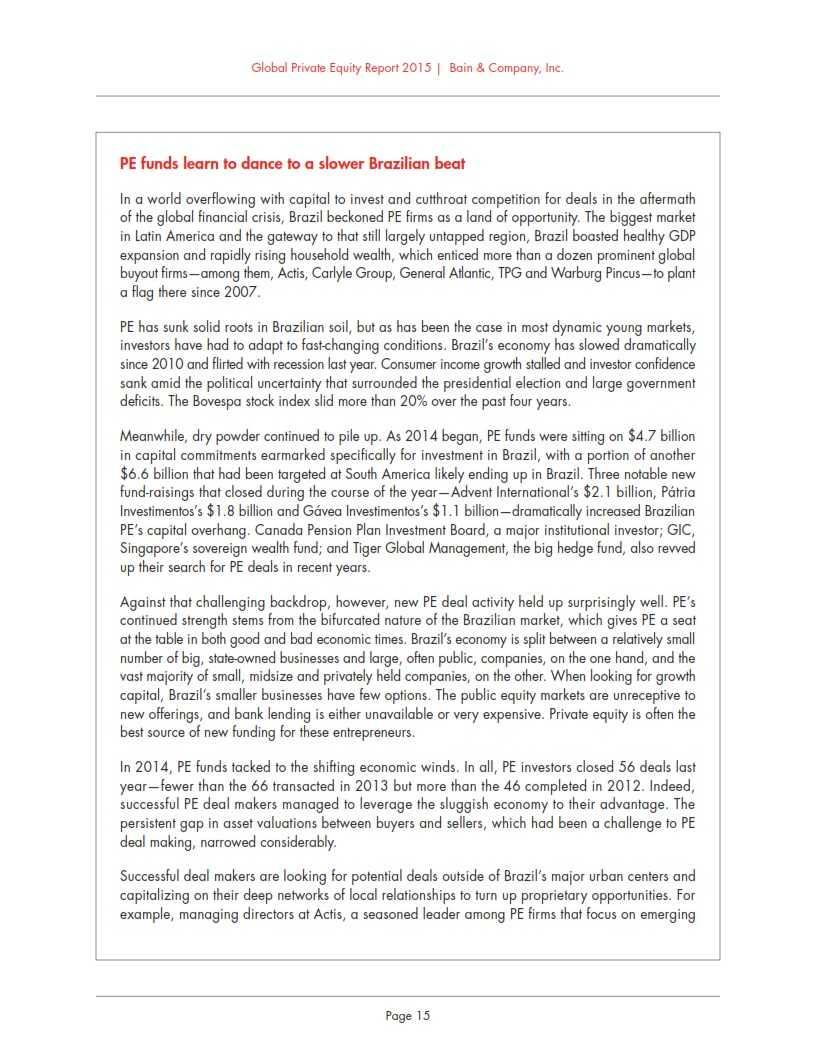 贝恩:2015年全球私募股权投资报告_021