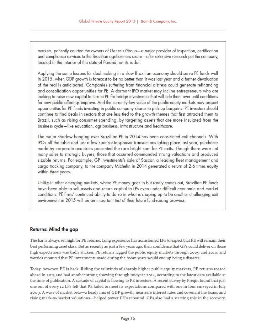 贝恩:2015年全球私募股权投资报告_022