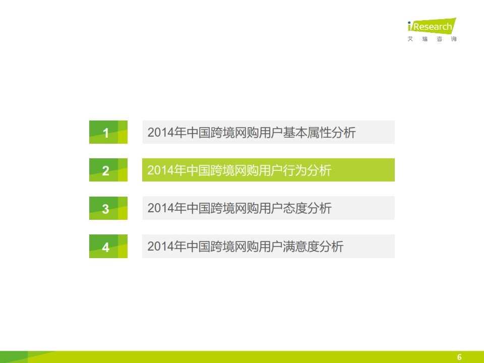 iResearch-2015年中国跨境网络购物用户研究报告简版_006