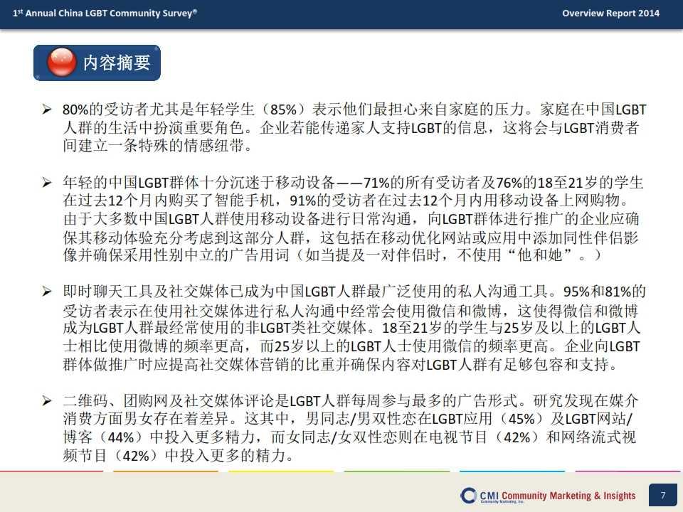 CMI:2014年中国LGBT群体生活消费指数调查报告_007