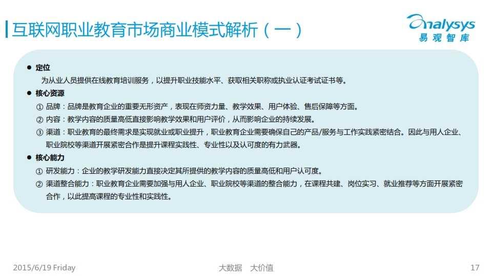 中国互联网职业教育市场专题研究报告2015_017