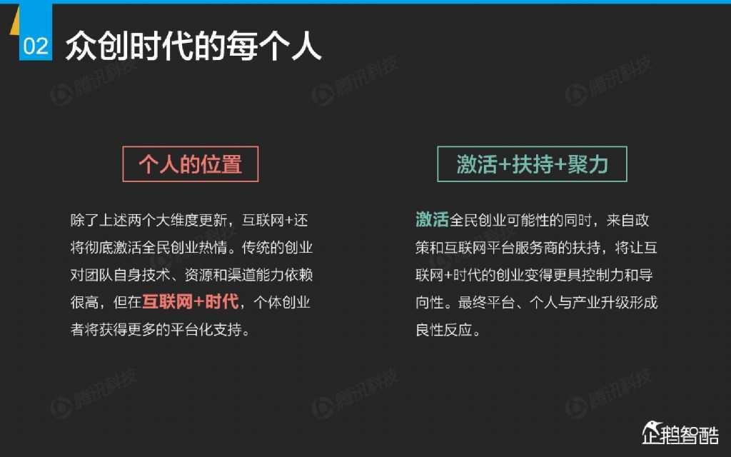互联网 九大传统行业转型报告(企鹅智酷)_000003