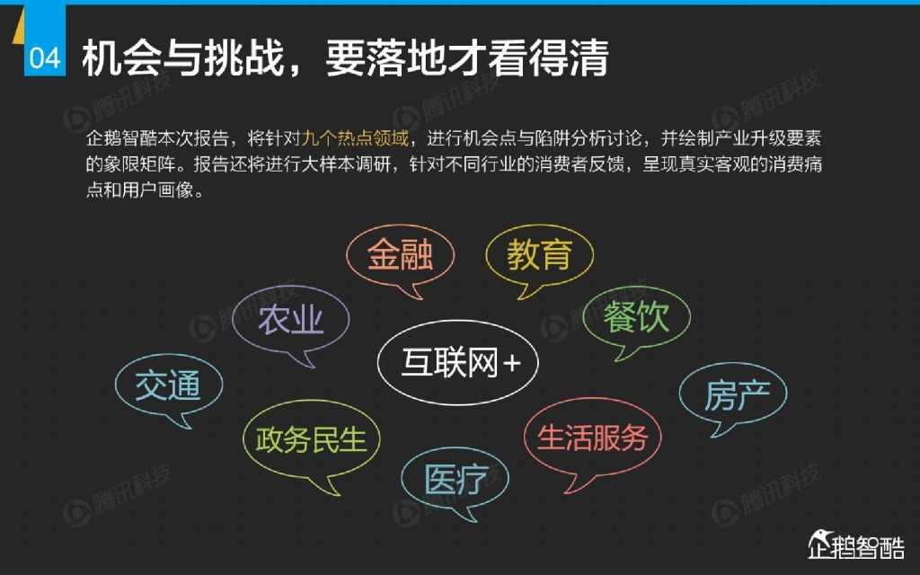 互联网 九大传统行业转型报告(企鹅智酷)_000005
