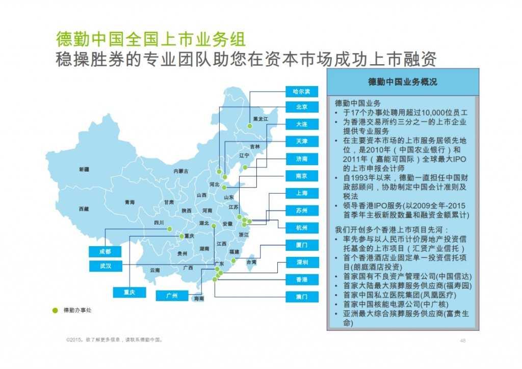 2015年Q1香港及中国大陆IPO市场_048