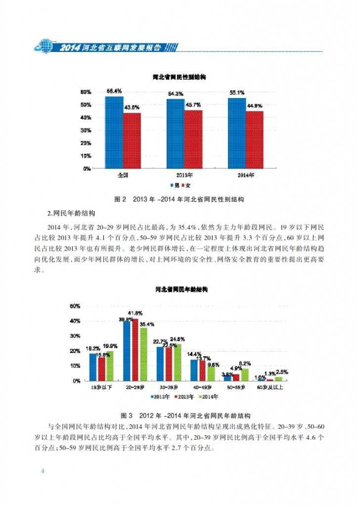 CNNIC:2014年河北省互联网发展状况报告_011