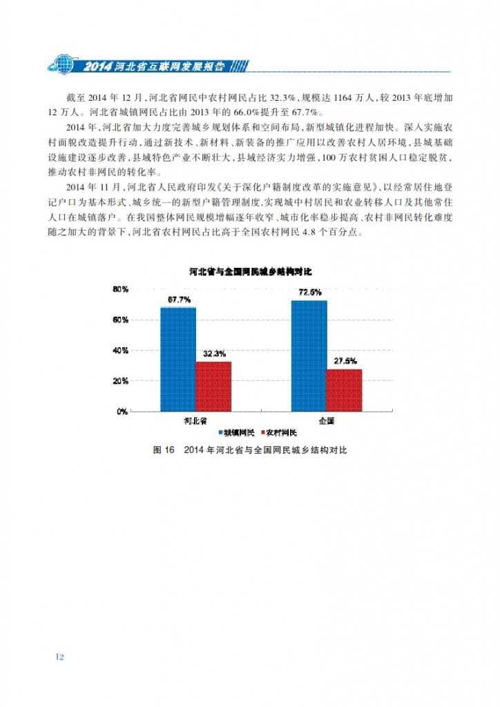CNNIC:2014年河北省互联网发展状况报告_019