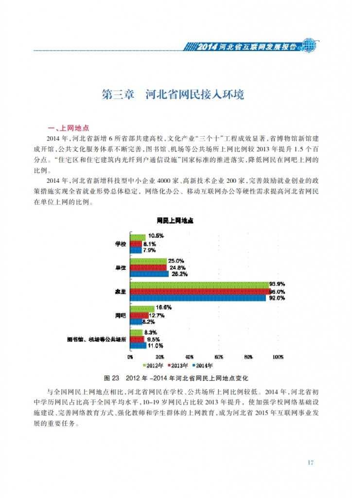 CNNIC:2014年河北省互联网发展状况报告_024