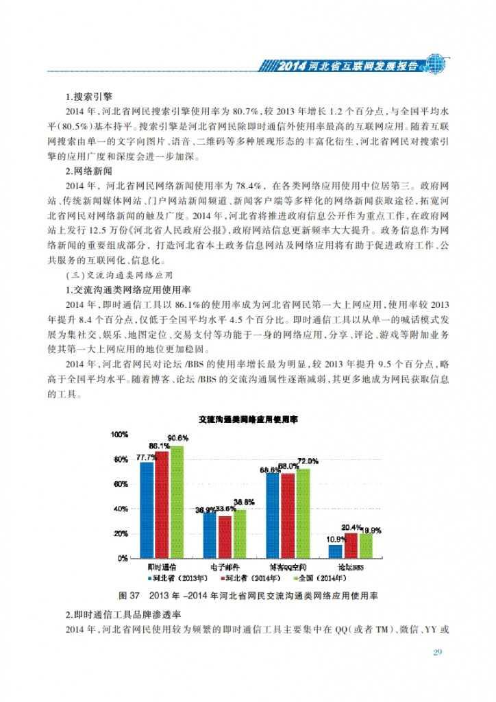 CNNIC:2014年河北省互联网发展状况报告_036