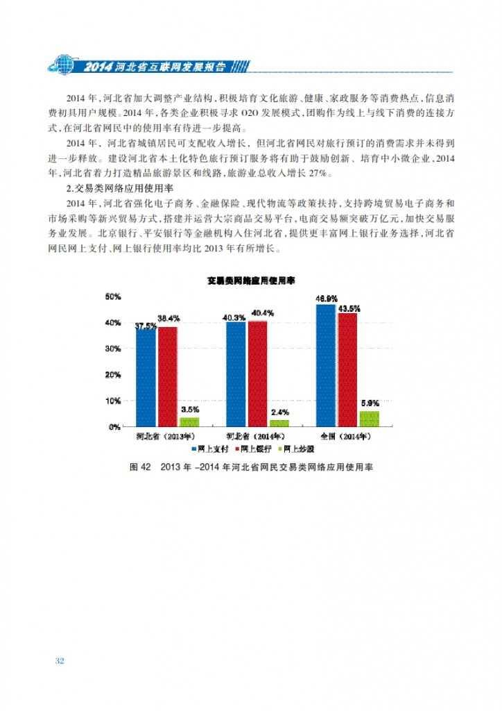 CNNIC:2014年河北省互联网发展状况报告_039