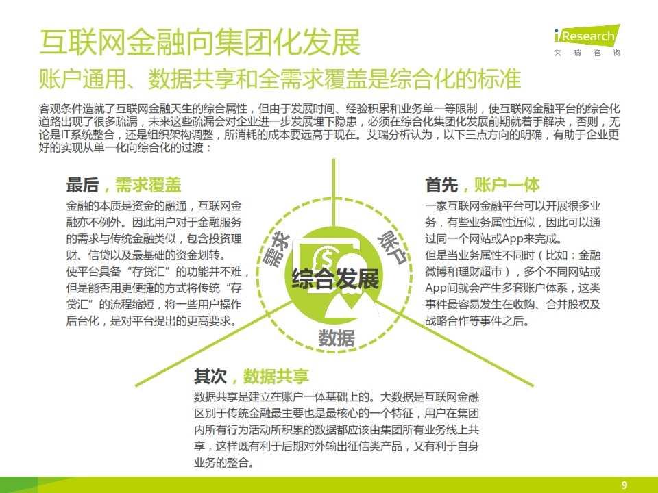 iResearch-2015互联网金融发展格局研究报告_009