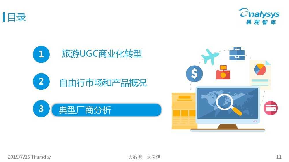 中国旅游UGC自由行市场专题研究报告2015_000011