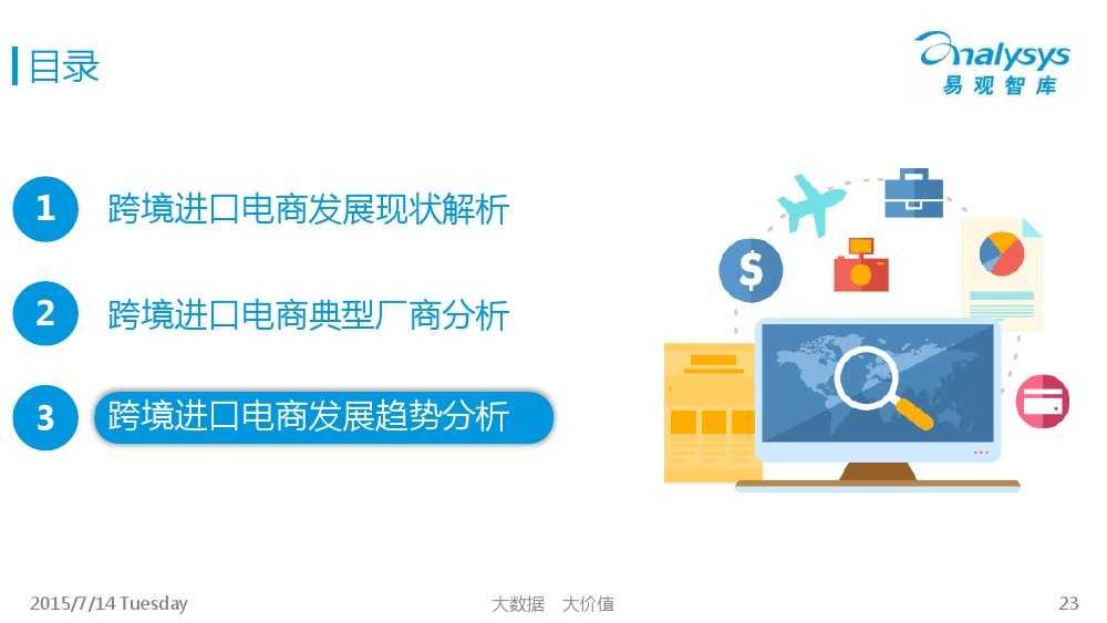 中国跨境进口电商市场专题研究报告2015_000023