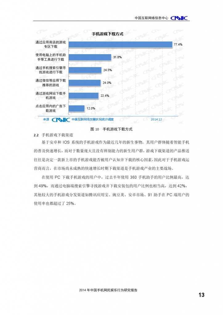 2014年中国手机网民娱乐行为报告_000017
