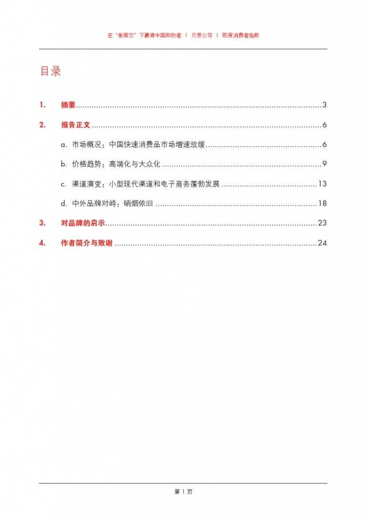2015年中国购物者报告_000003