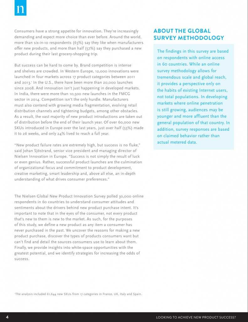 Nielsen:2015年消费商品创新调查报告(附报告)_000004