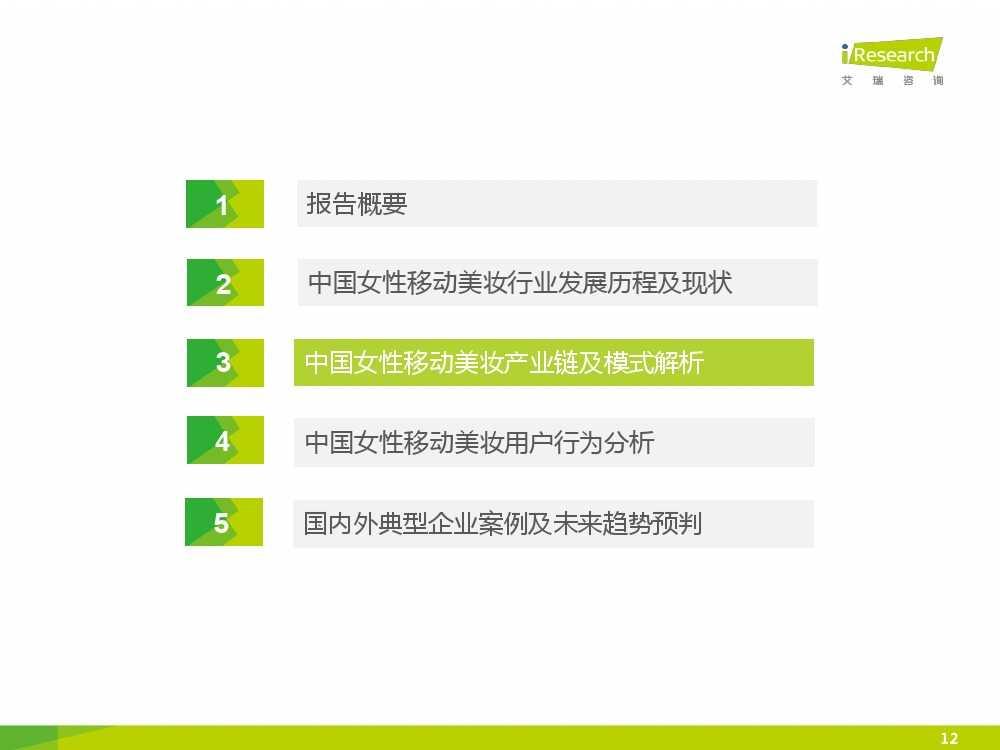 iResearch-2015年中国女性移动美妆行业发展报告_000012