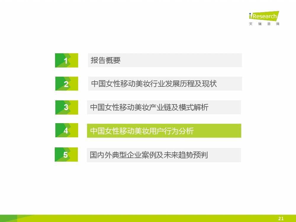 iResearch-2015年中国女性移动美妆行业发展报告_000021
