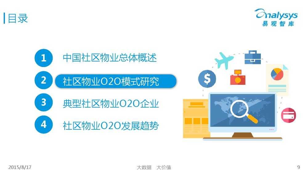 中国社区物业O2O市场专题研究报告2015 01_000009