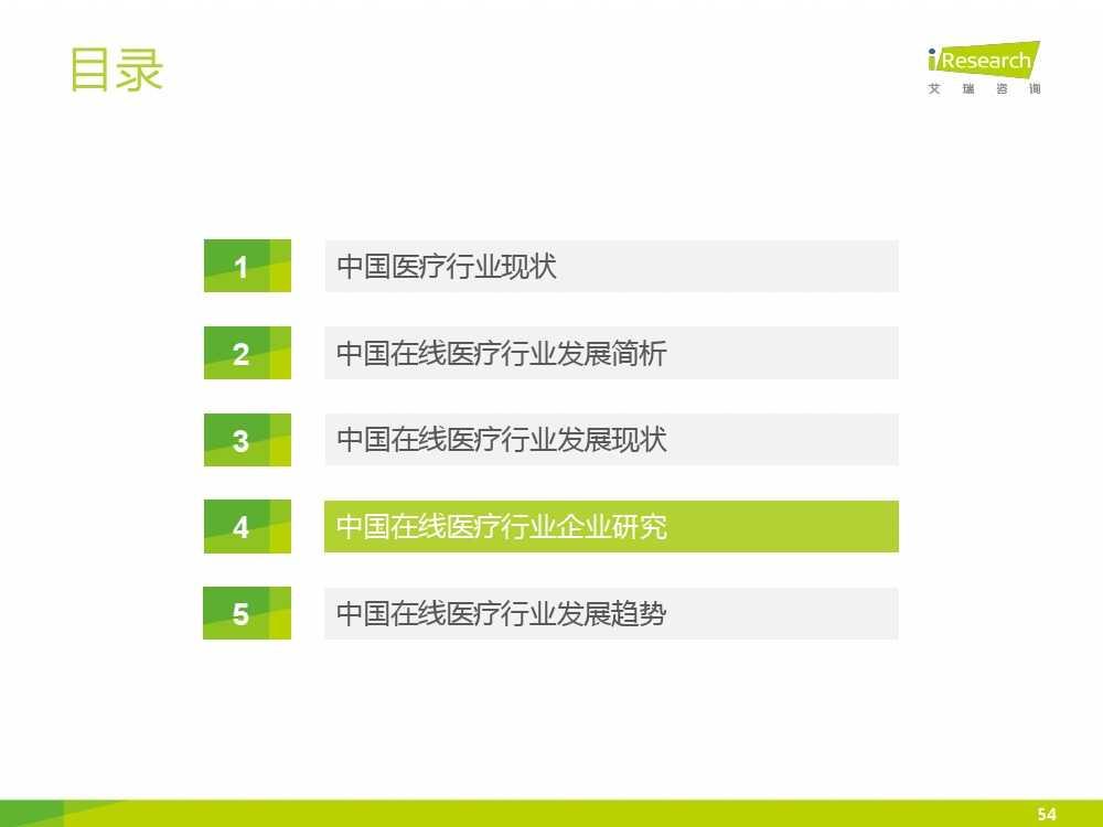 2015年中国在线医疗行业研究报告(1)_000054