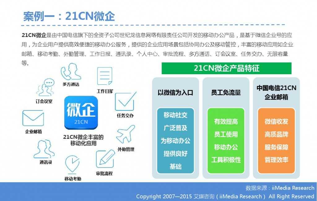 2015年中国微信企业号市场研究报告_000028