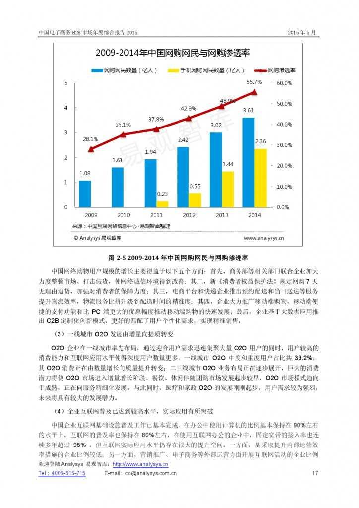 中国电子商务B2B市场年度综合报告2015_000017