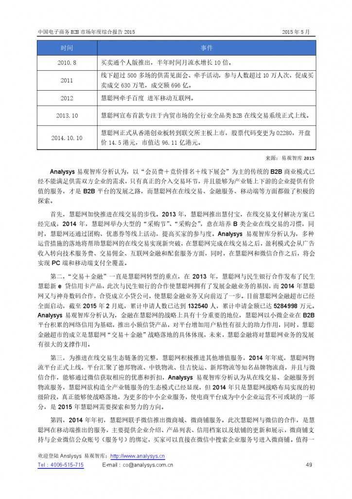 中国电子商务B2B市场年度综合报告2015_000049
