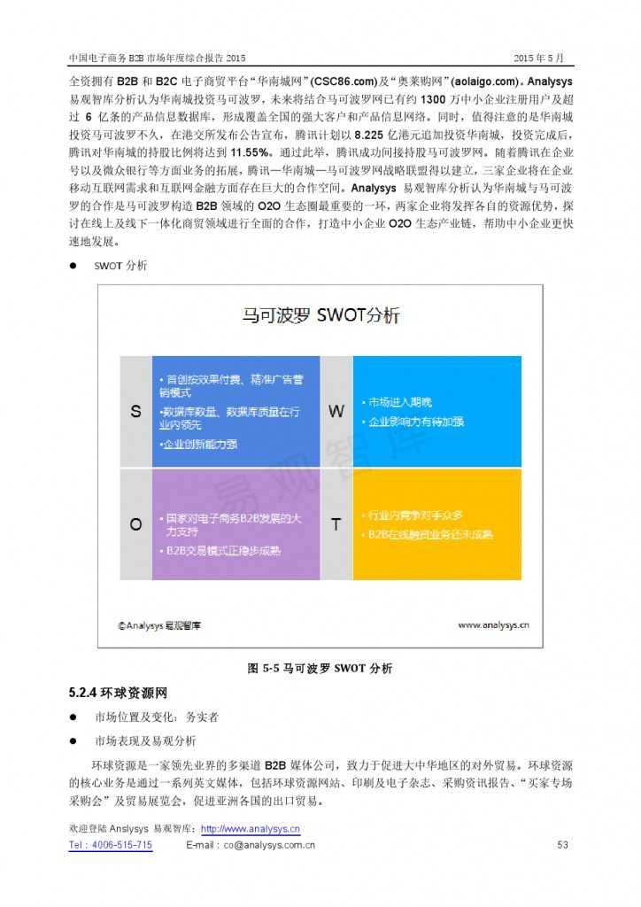 中国电子商务B2B市场年度综合报告2015_000053