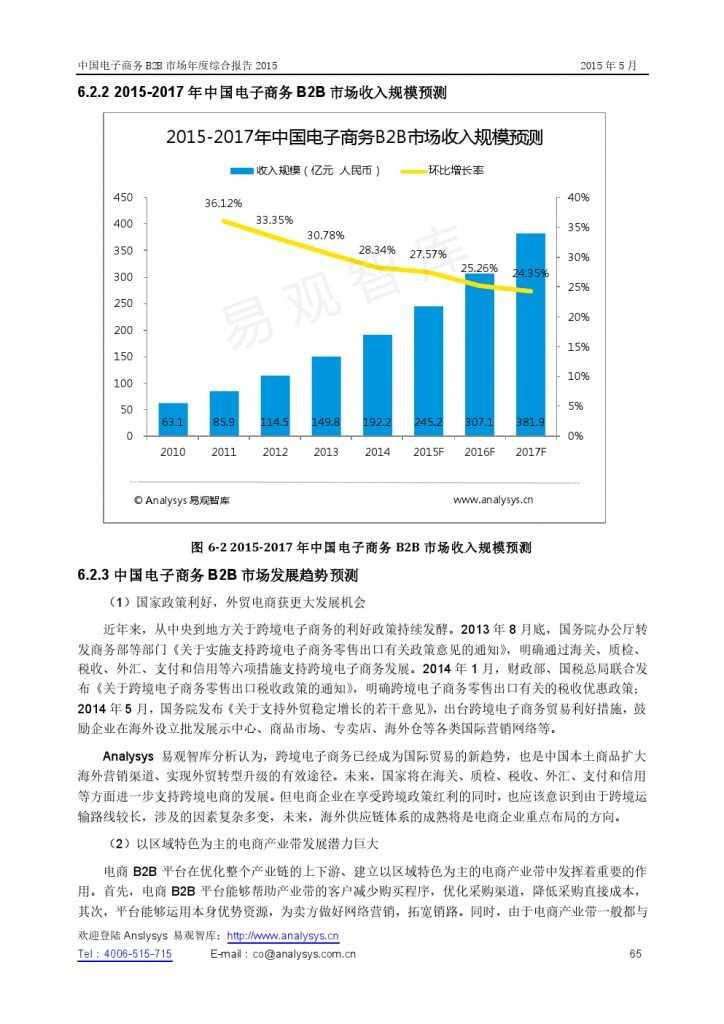 中国电子商务B2B市场年度综合报告2015_000065