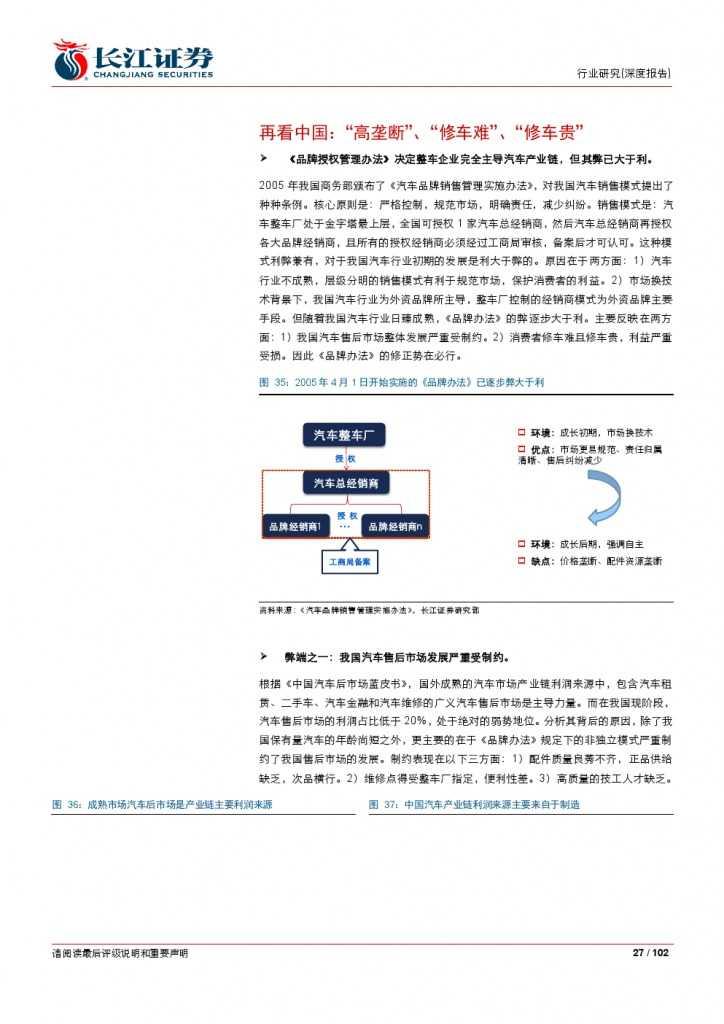 汽车后市场百页系列报告之一: 养护维修,去伪存真_000027