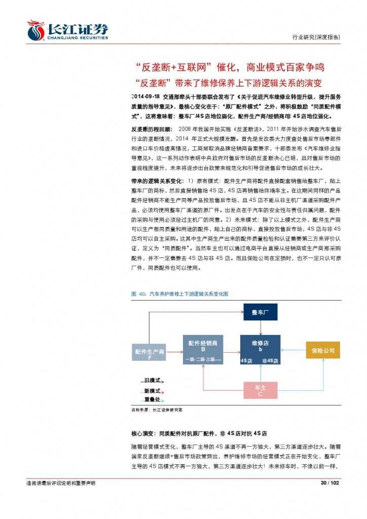 汽车后市场百页系列报告之一: 养护维修,去伪存真_000030