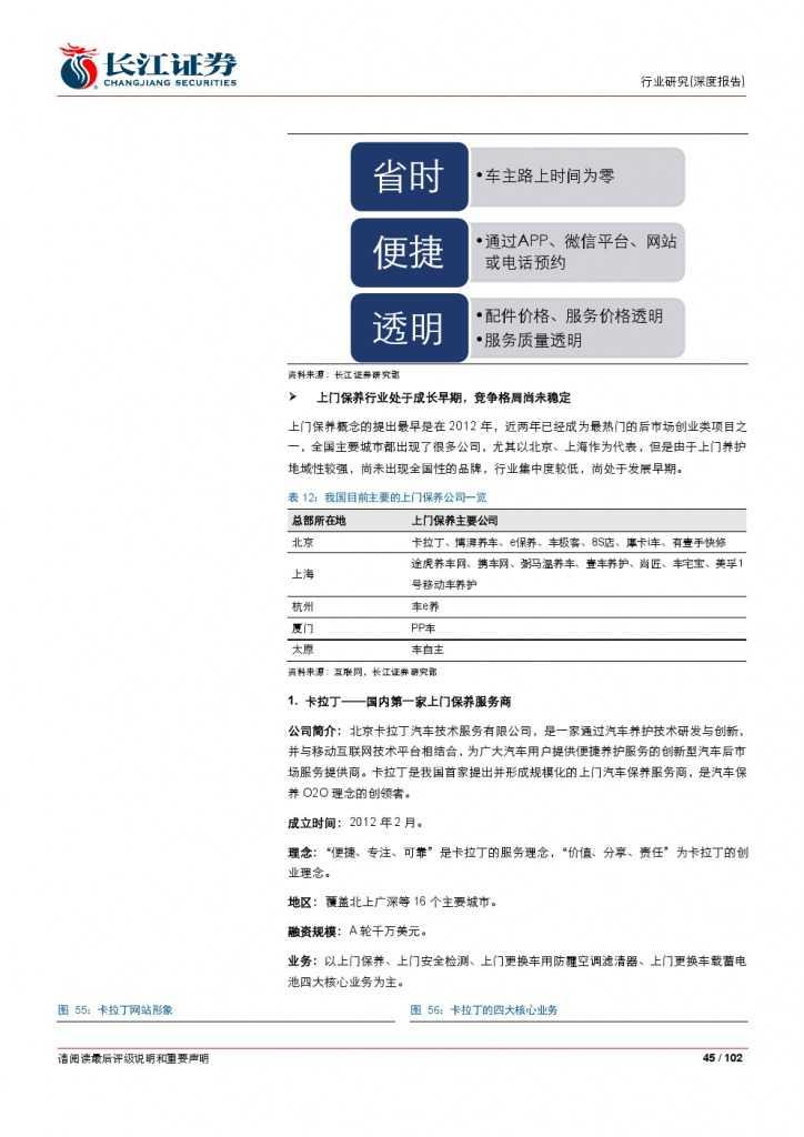 汽车后市场百页系列报告之一: 养护维修,去伪存真_000045