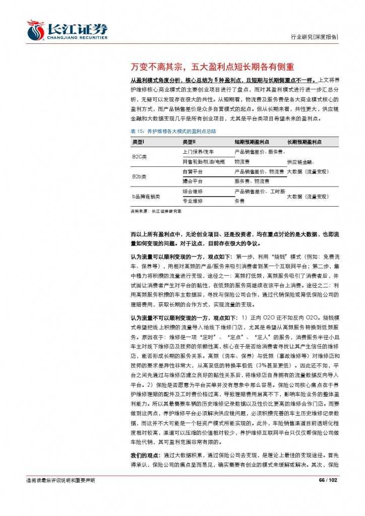 汽车后市场百页系列报告之一: 养护维修,去伪存真_000066
